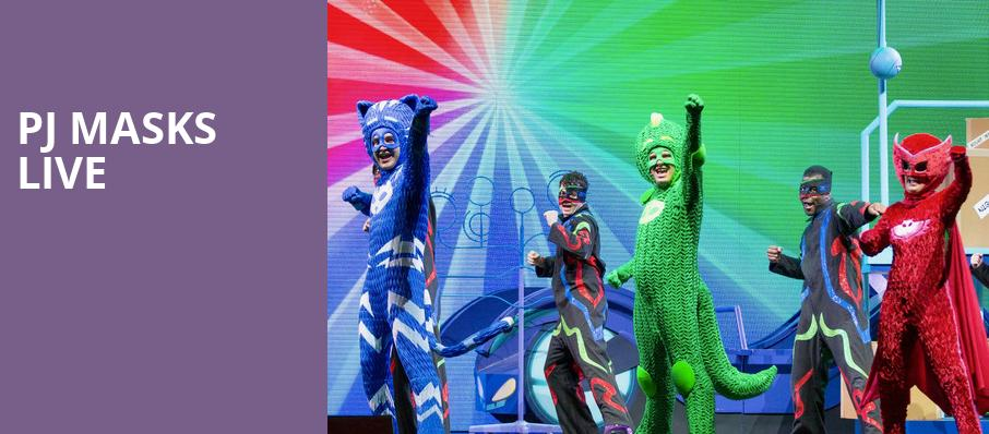 PJ Masks Live, Lynn Memorial Auditorium, Boston