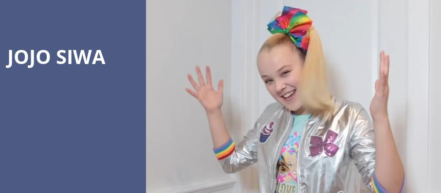 Jojo Siwa, Agganis Arena, Boston