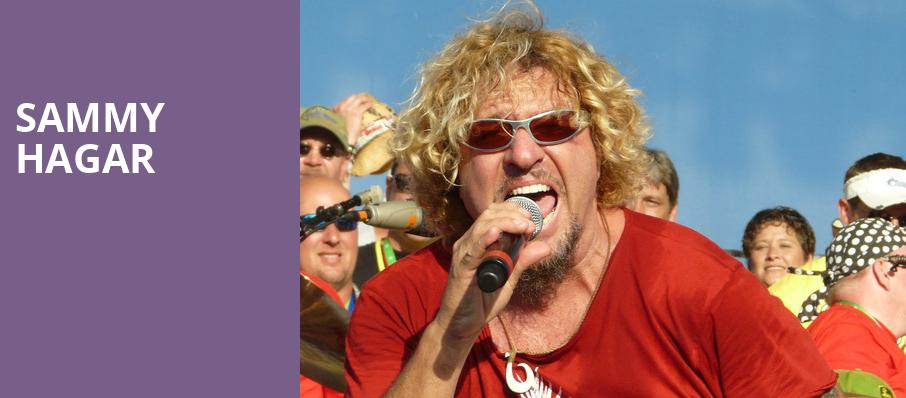Sammy Hagar, Xfinity Center, Boston