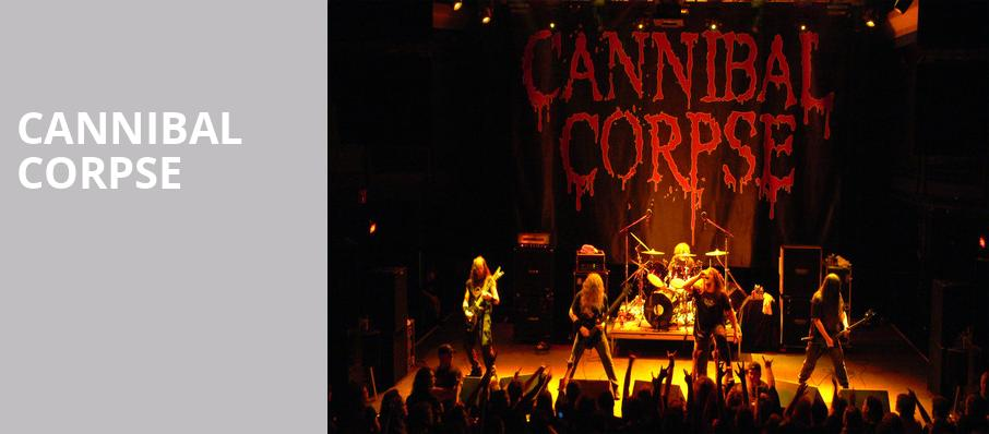 Cannibal Corpse, Royale Boston, Boston