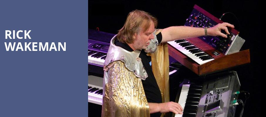 Rick Wakeman, Wilbur Theater, Boston