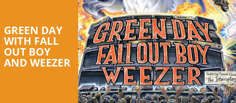 Green Day with Fall Out Boy and Weezer, Fenway Park, Boston