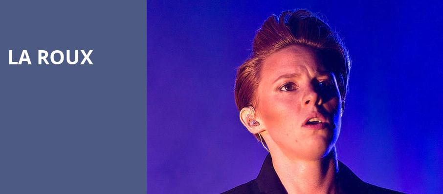 La Roux, House of Blues, Boston