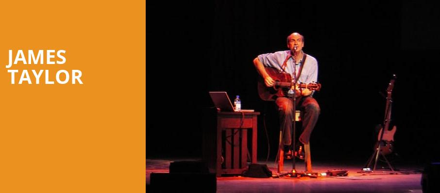 James Taylor, Tanglewood Music Center, Boston