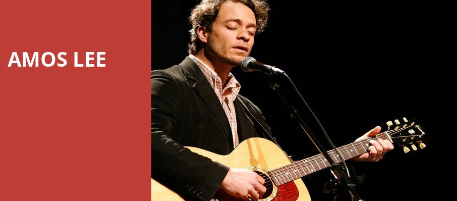 Amos Lee, Capitol Center for the Arts, Boston
