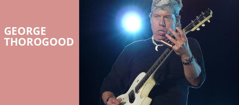 George Thorogood, Lynn Memorial Auditorium, Boston