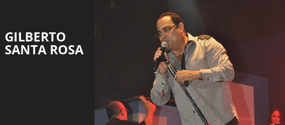 Gilberto Santa Rosa, Lynn Memorial Auditorium, Boston