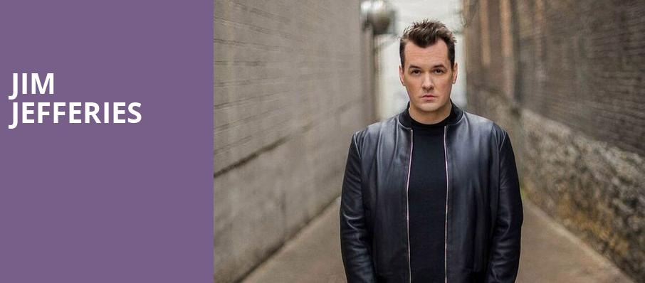 Jim Jefferies, Wilbur Theater, Boston