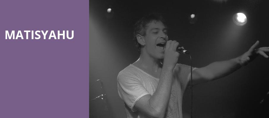 Matisyahu, Paradise Rock Club, Boston