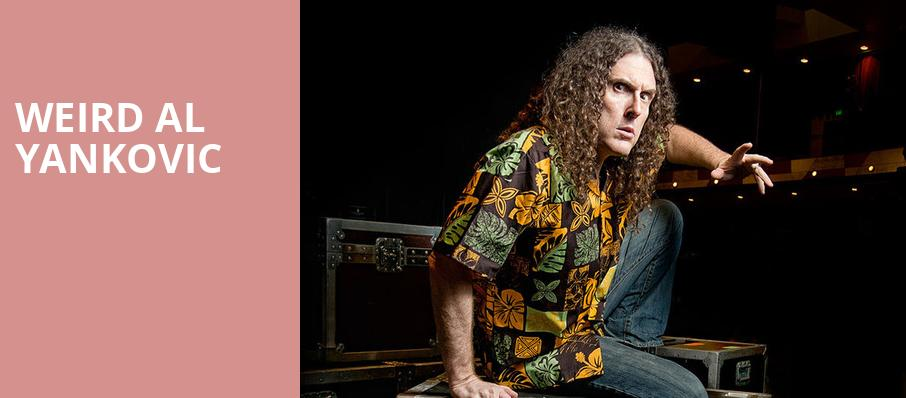 Weird Al Yankovic, Rockland Trust Bank Pavilion, Boston