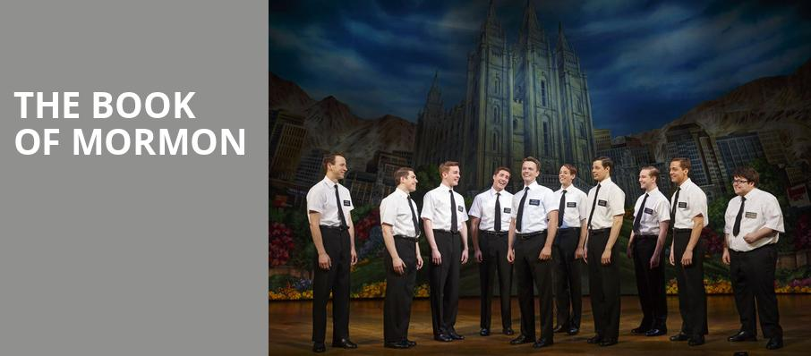 book of mormon boston dates