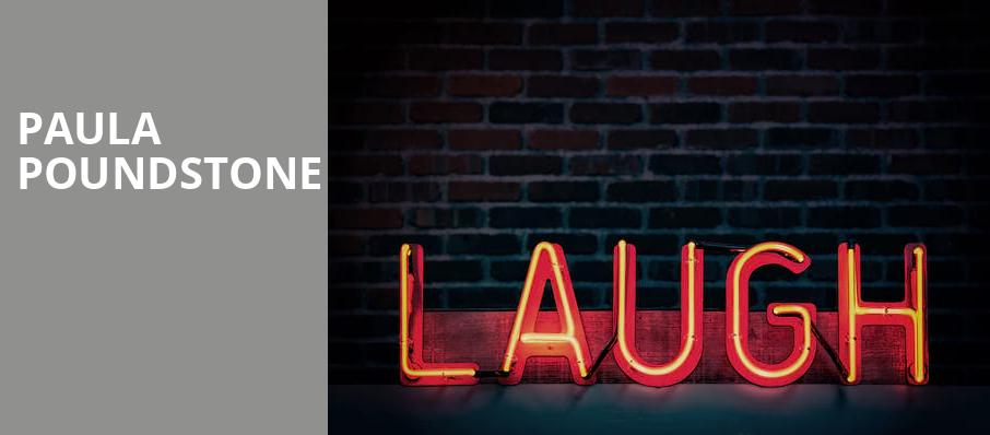 Paula Poundstone, Capitol Center for the Arts, Boston