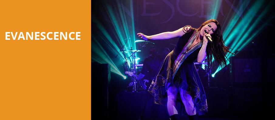 Evanescence, Xfinity Center, Boston
