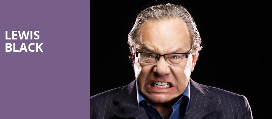 Lewis Black, Shubert Theatre, Boston