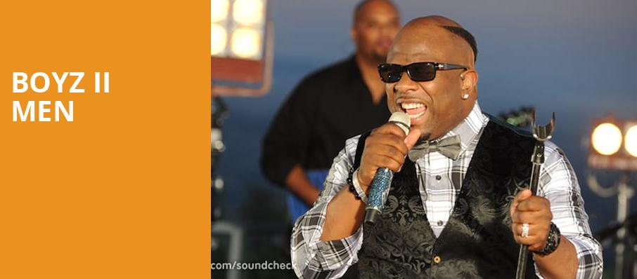 Boyz II Men, Chevalier Theatre, Boston