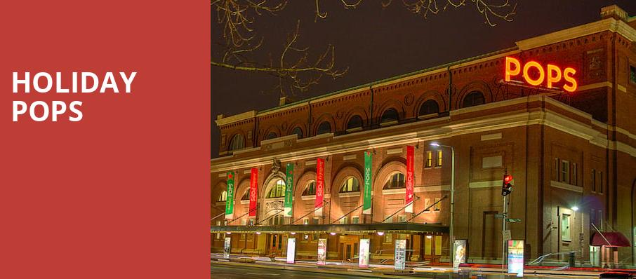 Holiday Pops, Boston Symphony Hall, Boston