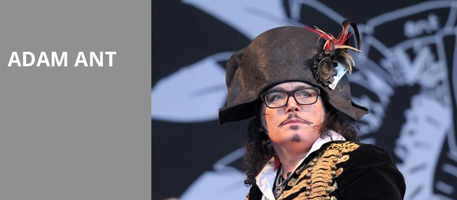 Adam Ant, Shubert Theatre, Boston