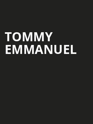 Tommy Emmanuel, Berklee Performance Center, Boston