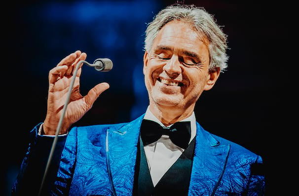 Andrea Bocelli Td Garden Boston Ma Tickets Information Reviews