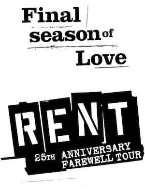 Rent, Capitol Center for the Arts, Boston